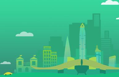 绿清集团网站设计案例