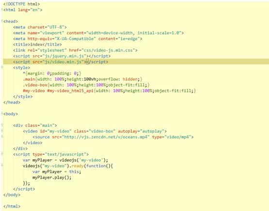 网站制作前端代码