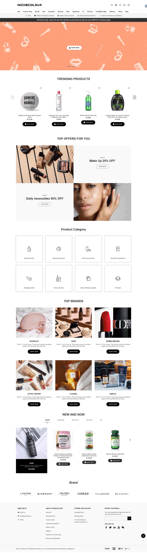 外贸独立站网站设计