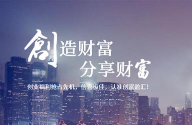 创富盈汇集团有限公司网站设计案例