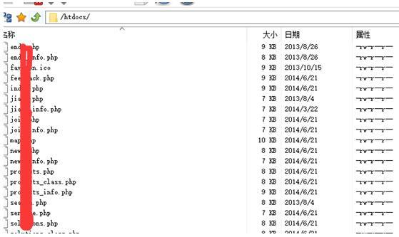 网站服务器文件