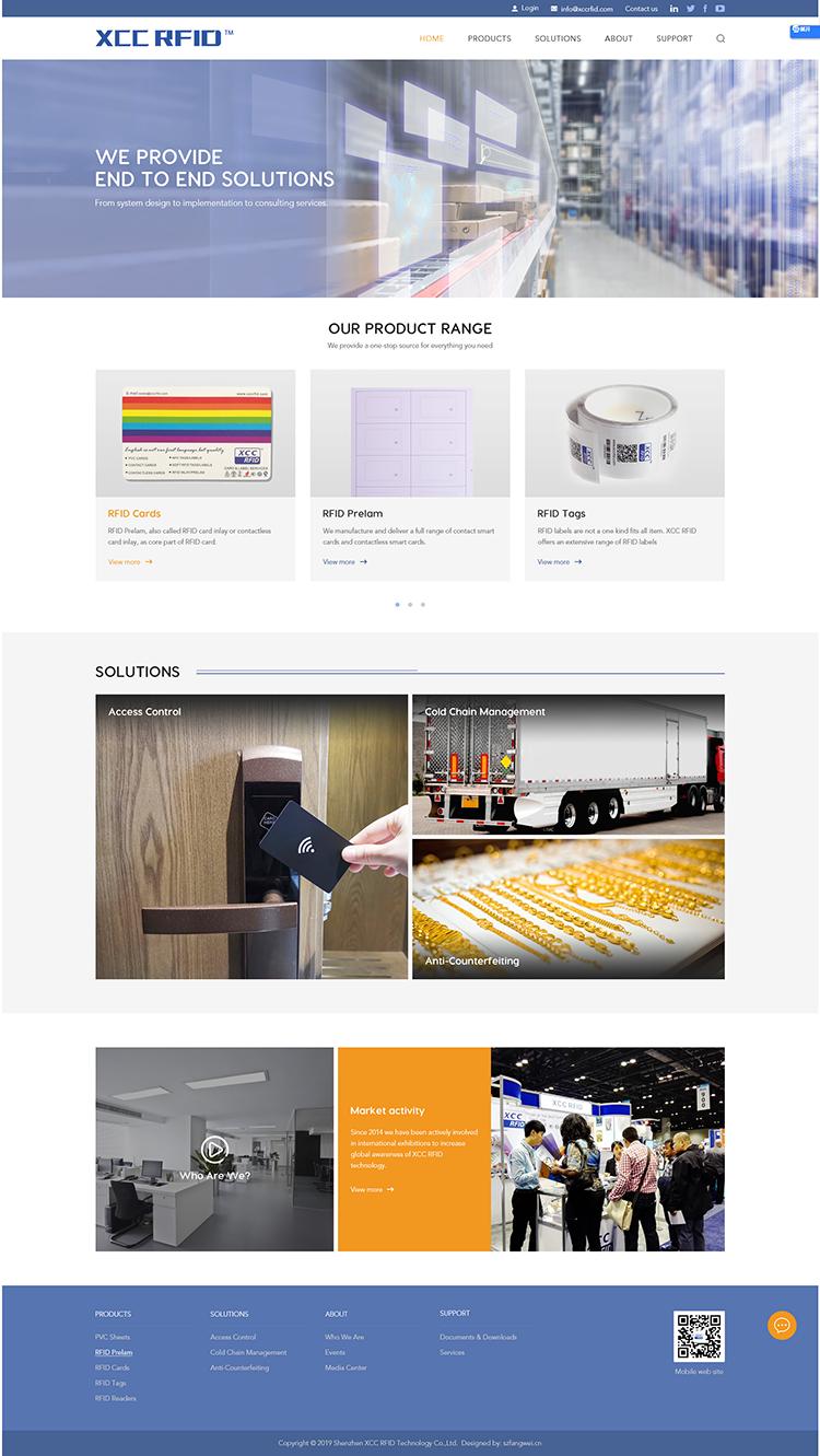 外贸网站设计
