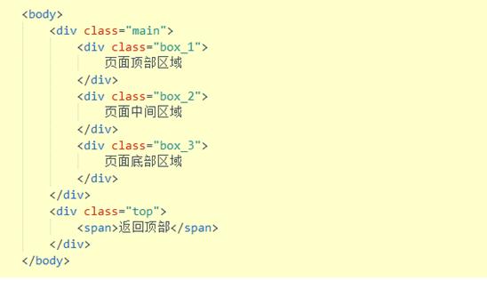 网站制作HTML代码