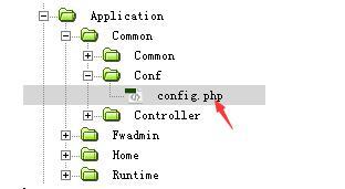 修改conf配置文件